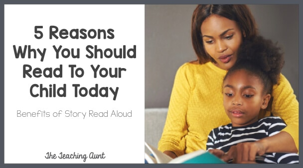 5 Reasons Why You Should Read To Your Child