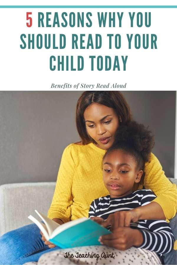 Benefits of Story Read Aloud