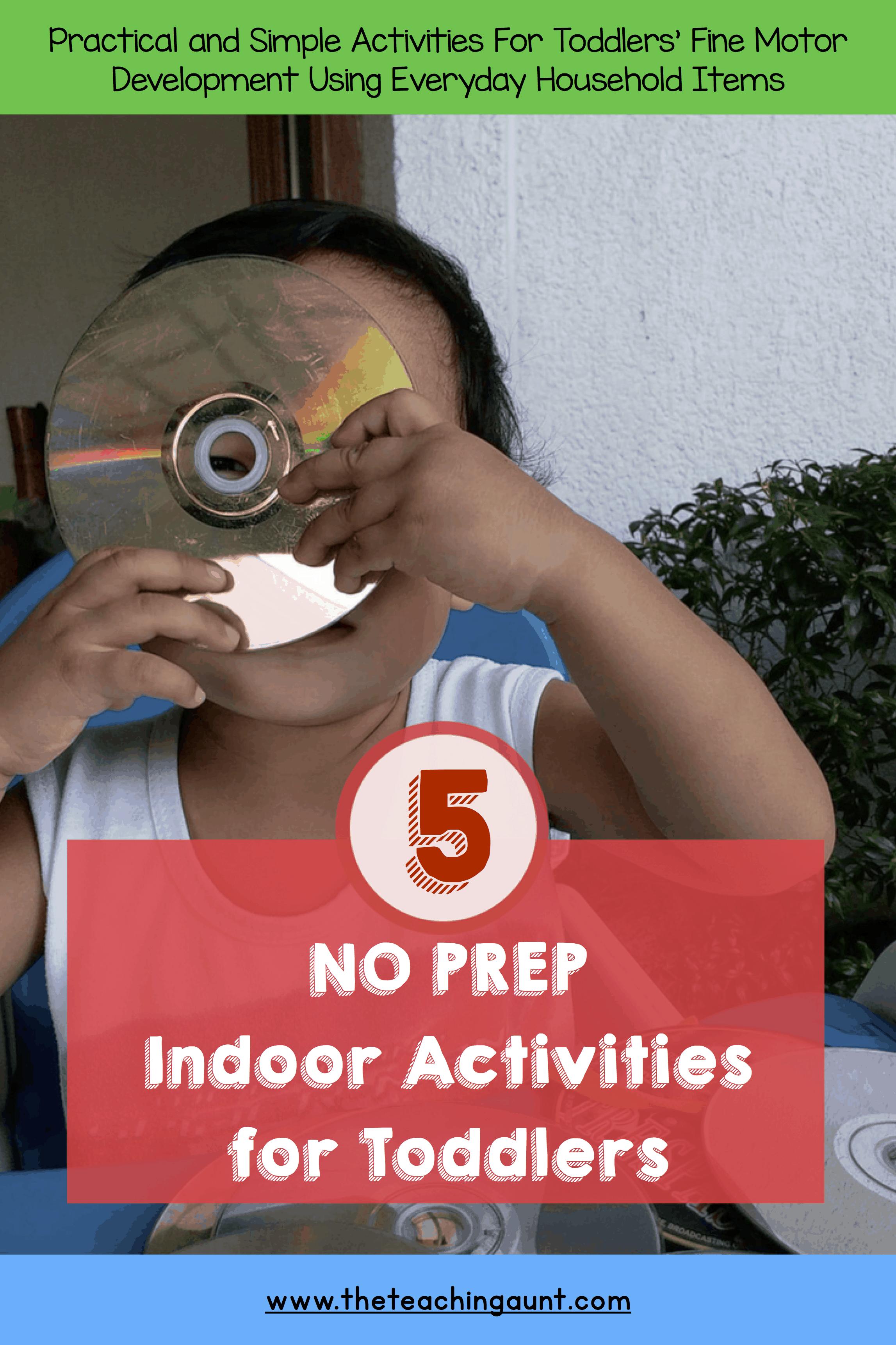5 NO PREP Indoor Activities for Toddlers P1