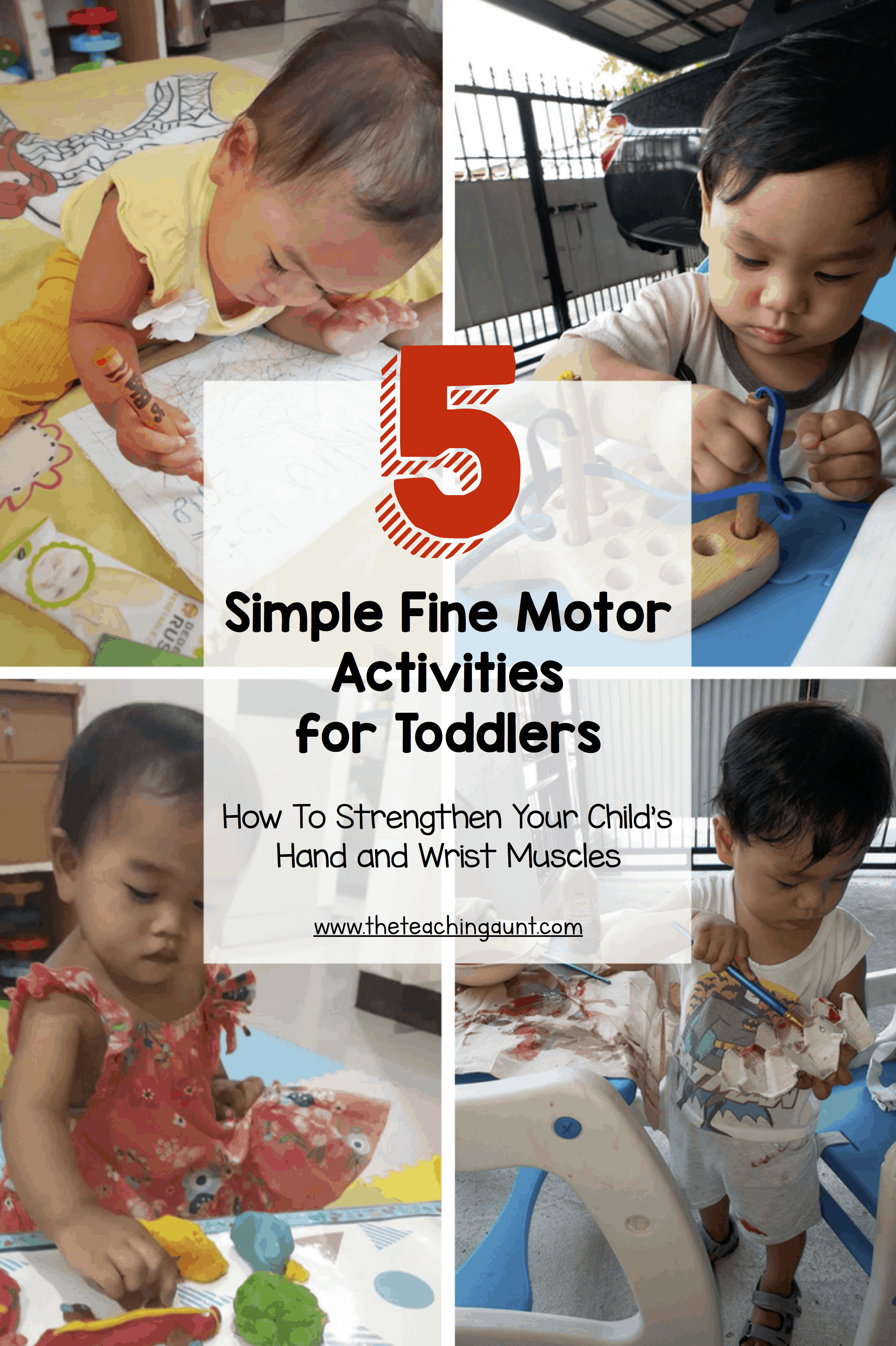 5 Simple Fine Motor Activities For Toddlers