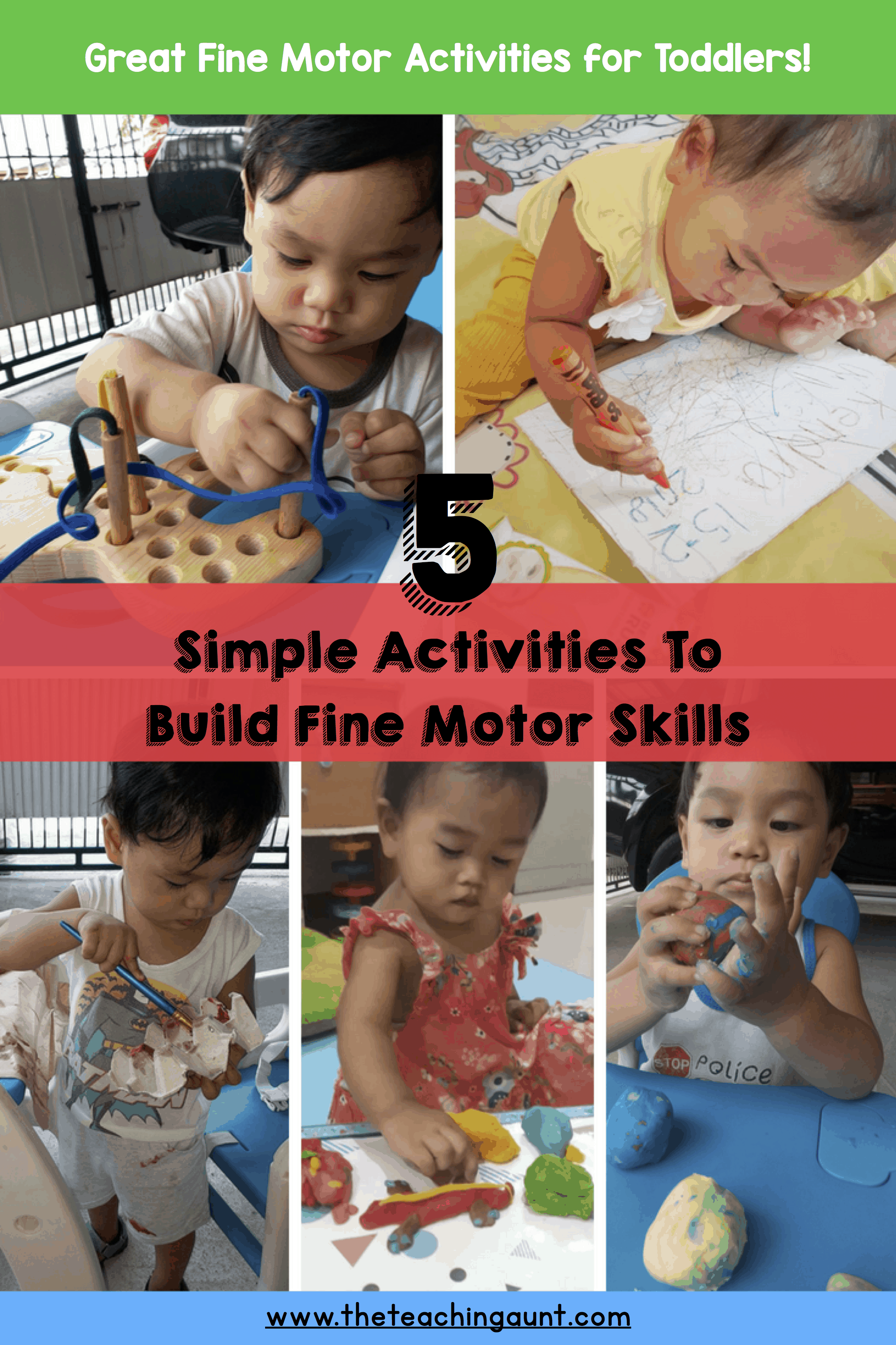 5 Simple Fine Motor Activities for Toddlers P2
