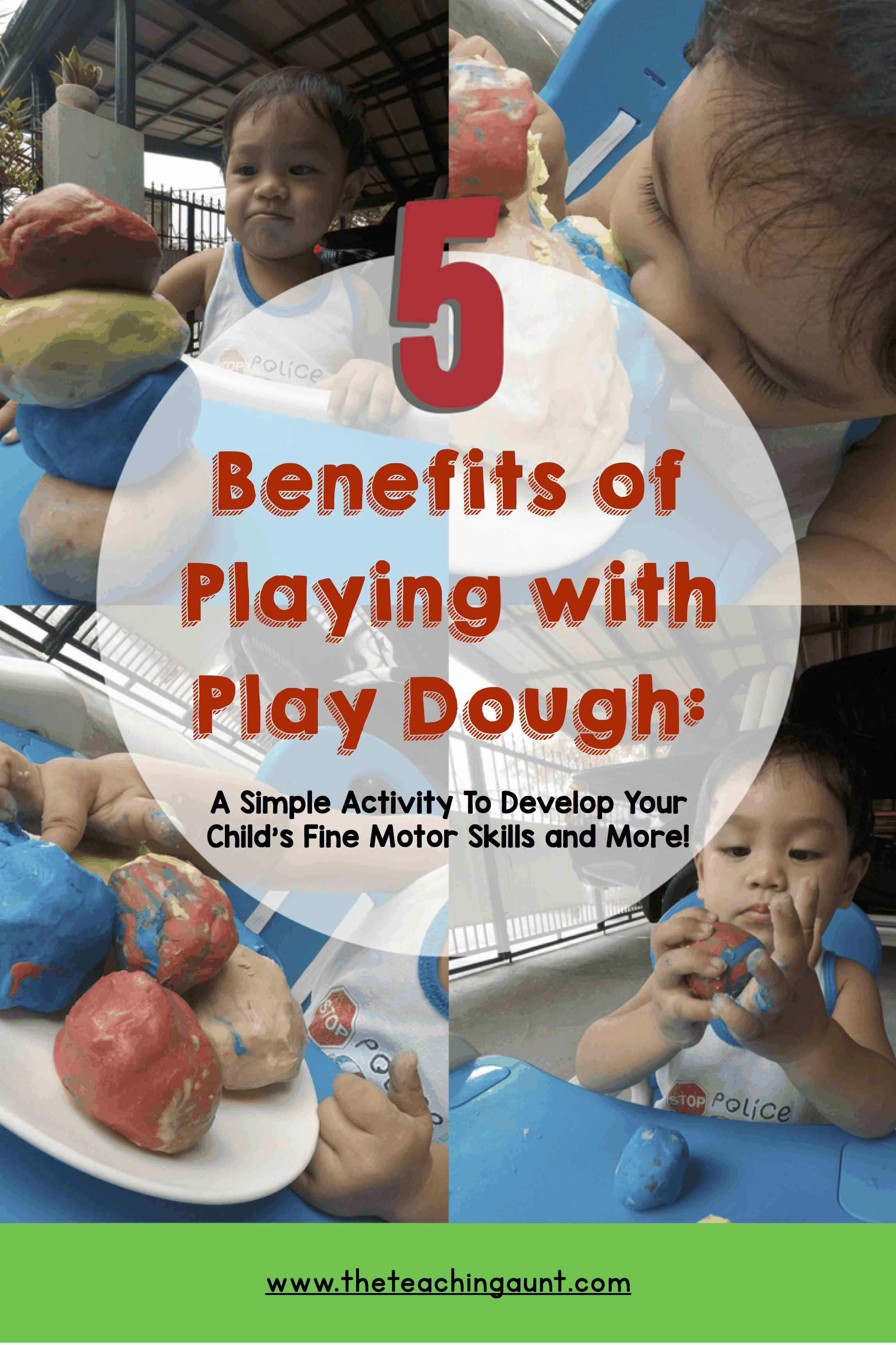Benefits of Play Dough For Toddlers P2