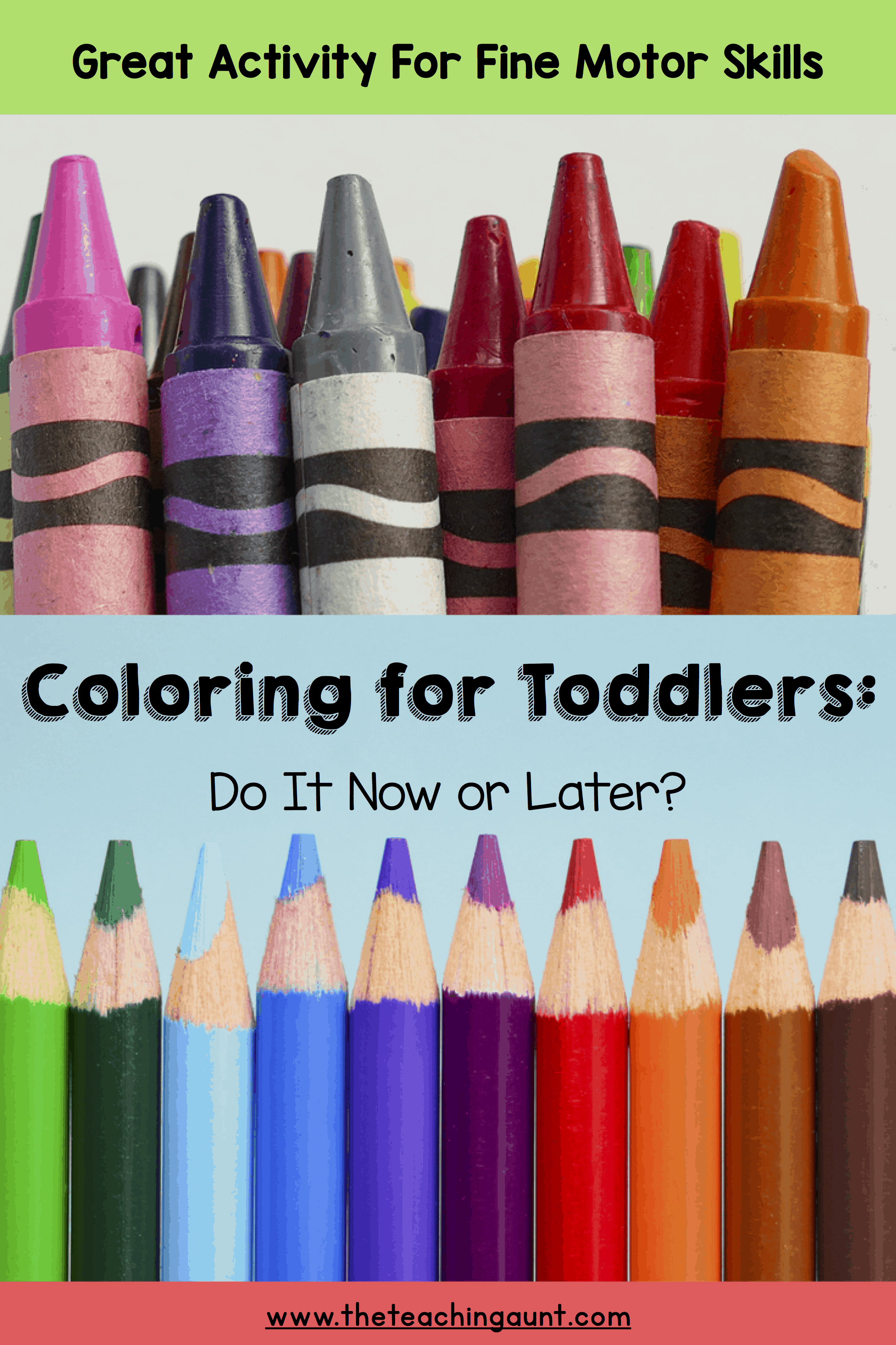Coloring For Toddlers