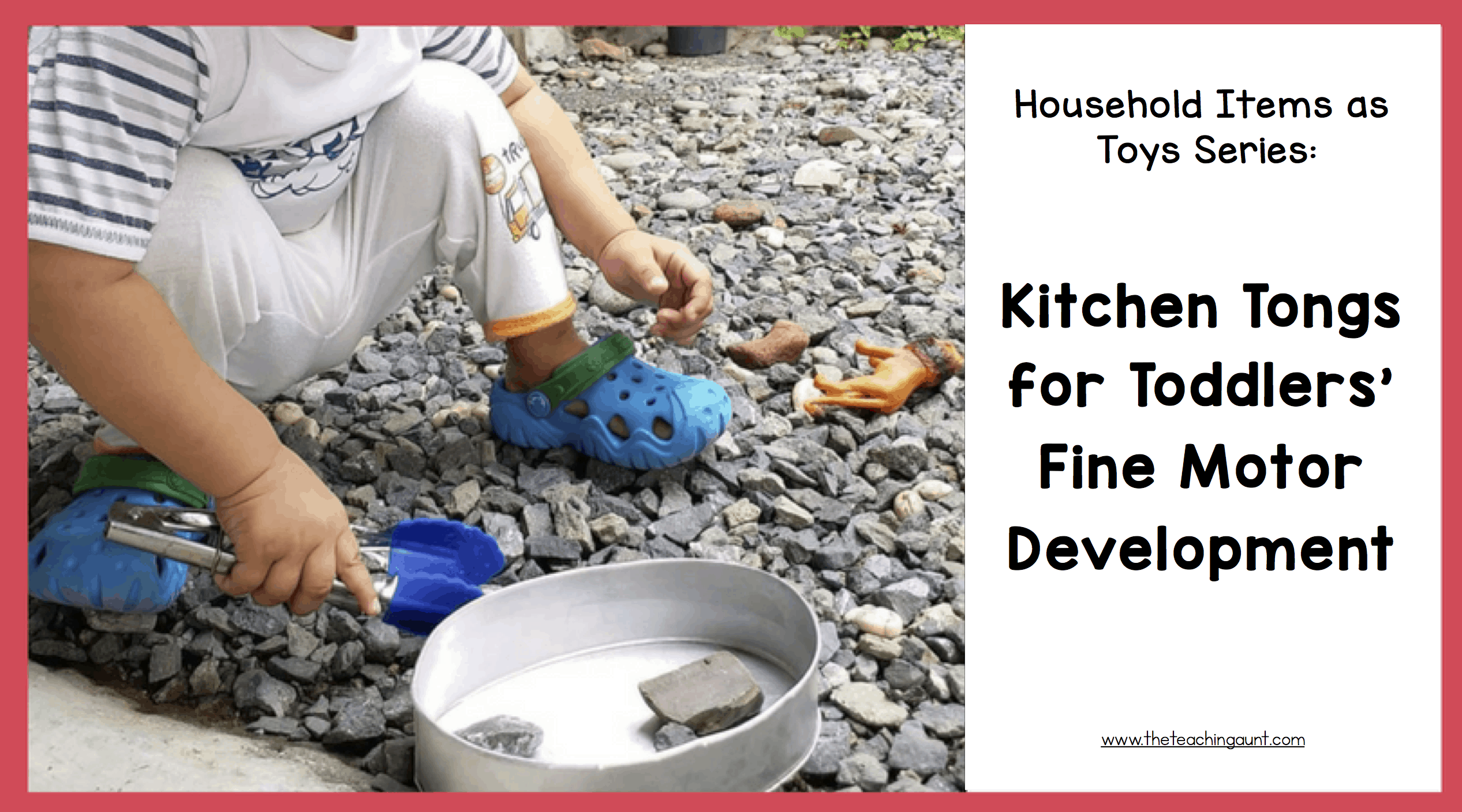 Kitchen Tongs for Toddlers: Household Items as Toys Series