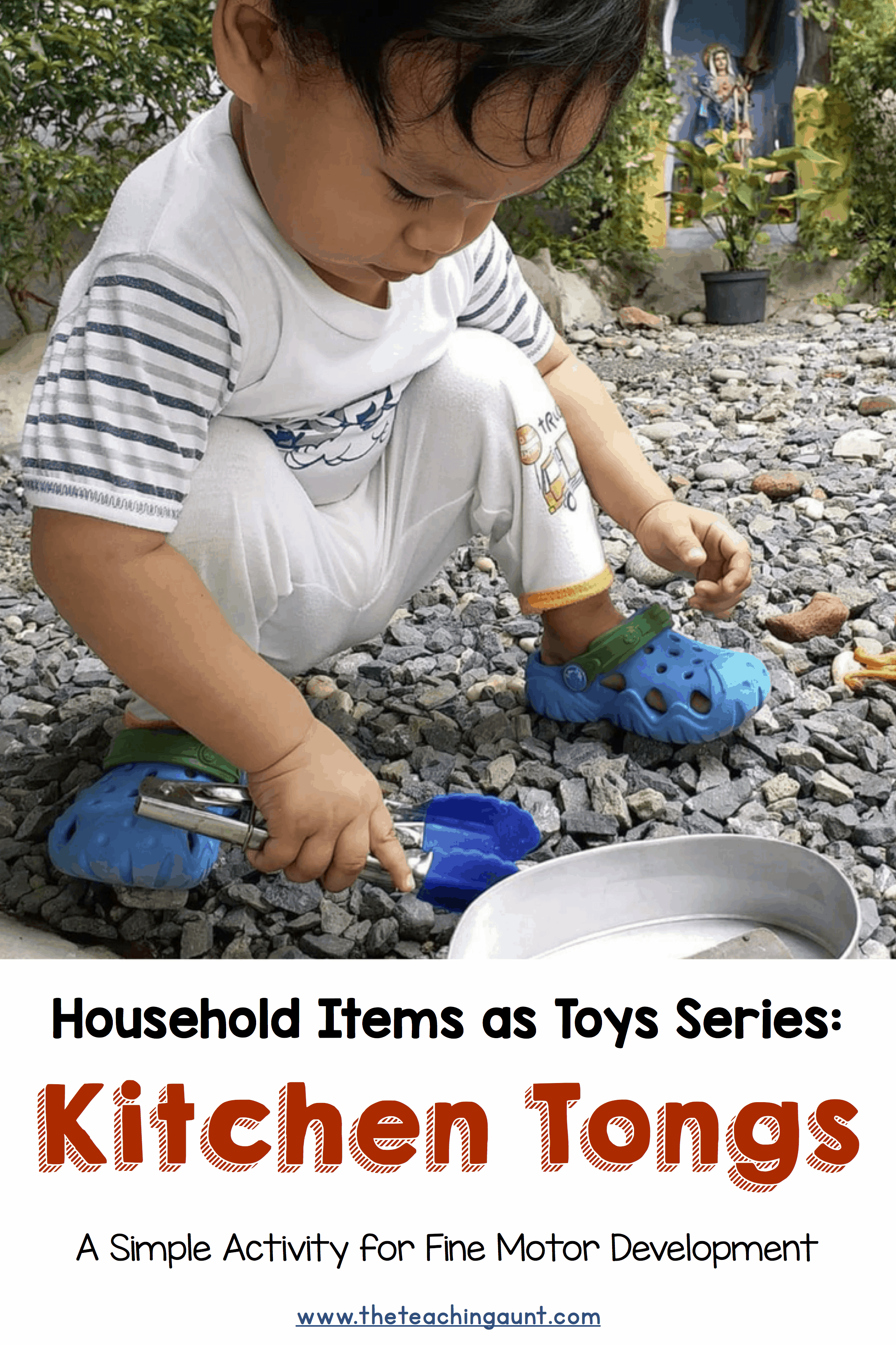 Kitchen Tongs for Toddlers' Fine Motor Development