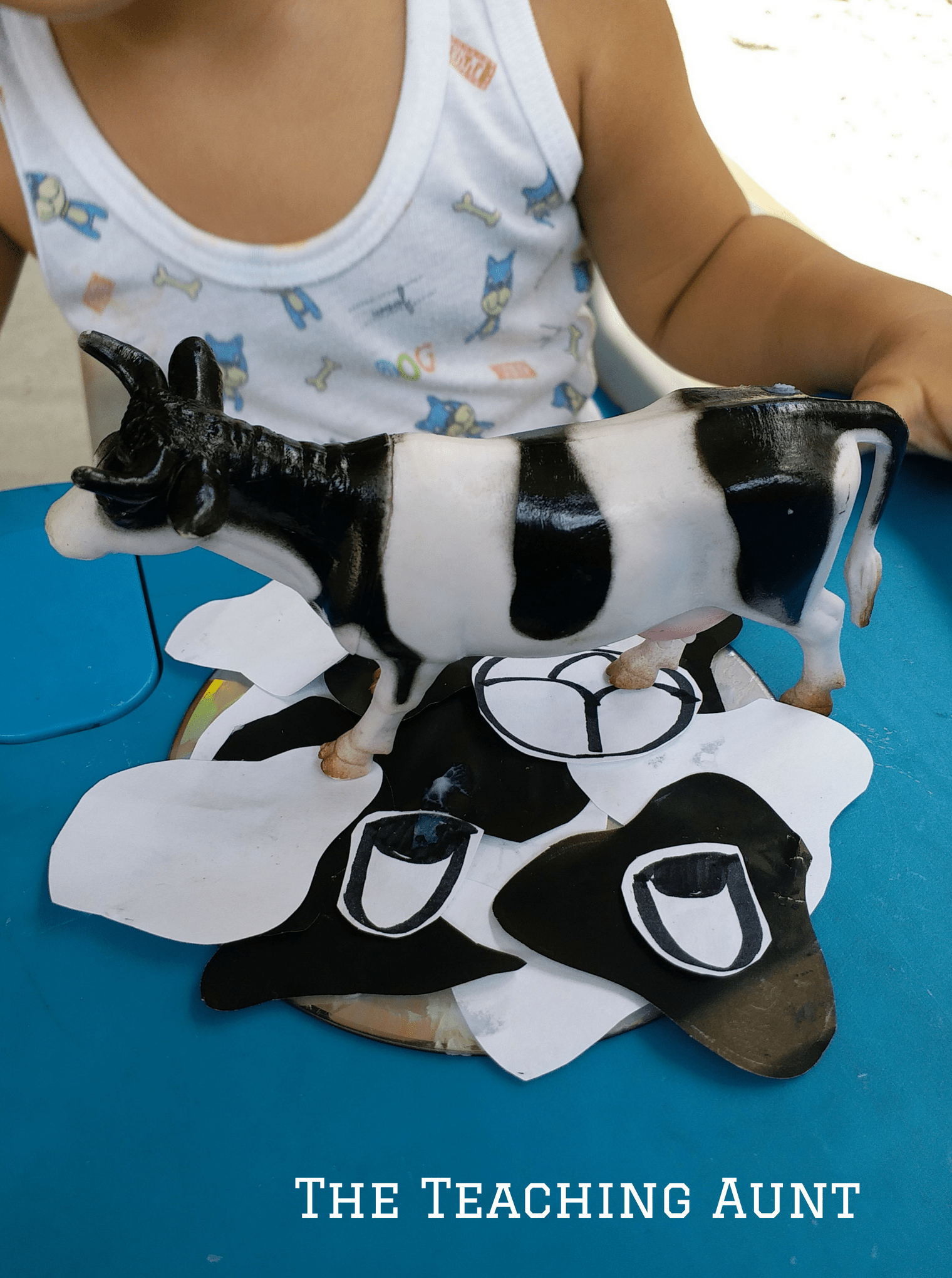 Miniature Cow on Cow Craft