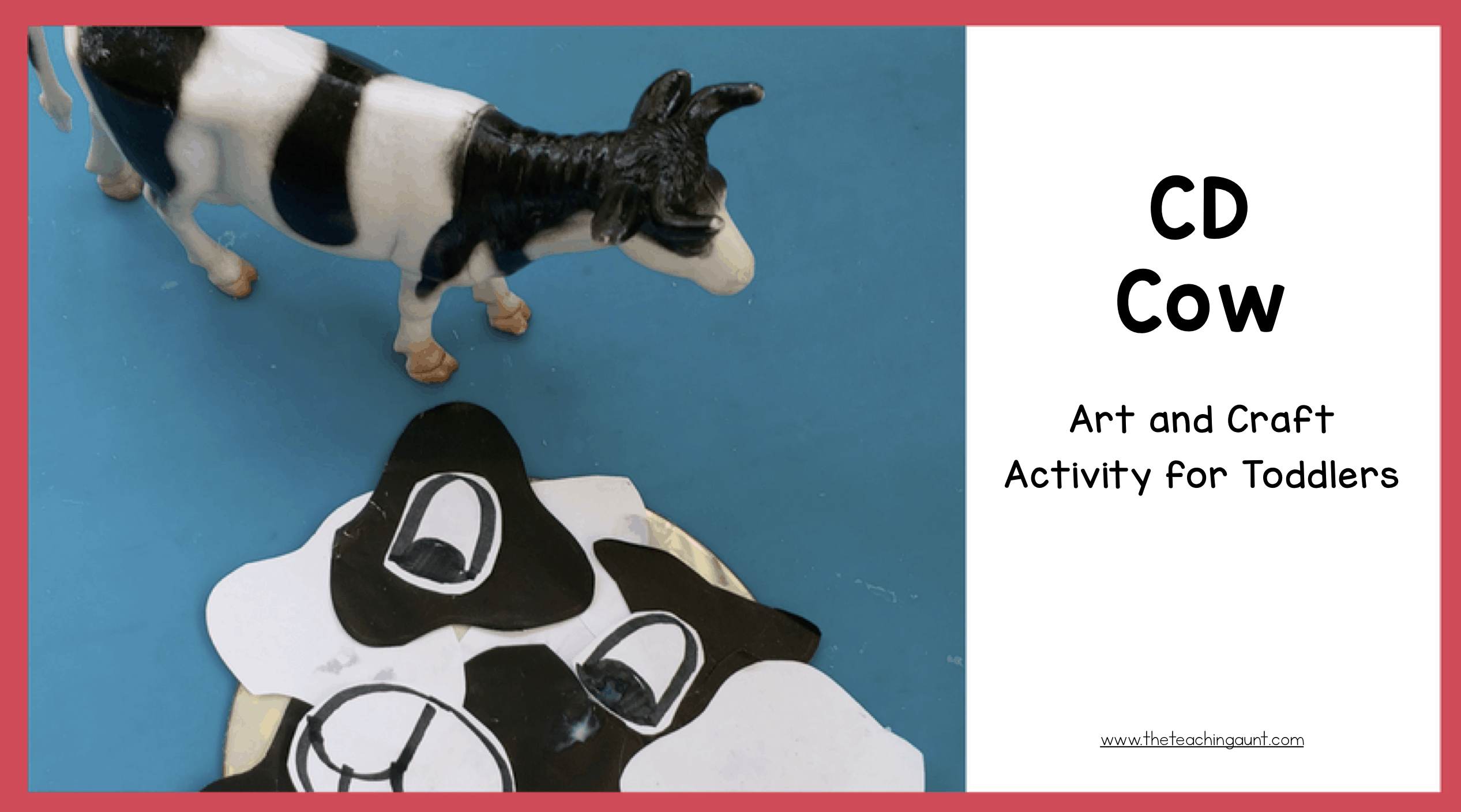 Cow Art and Craft for Toddlers