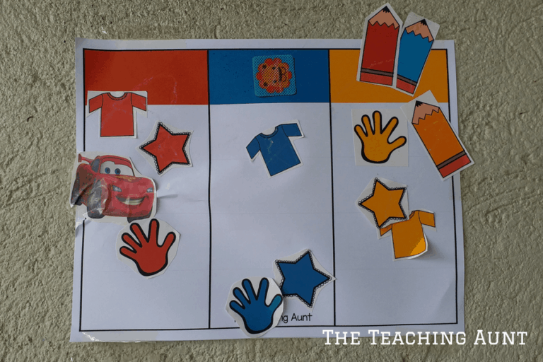 Color Chart for Toddlers