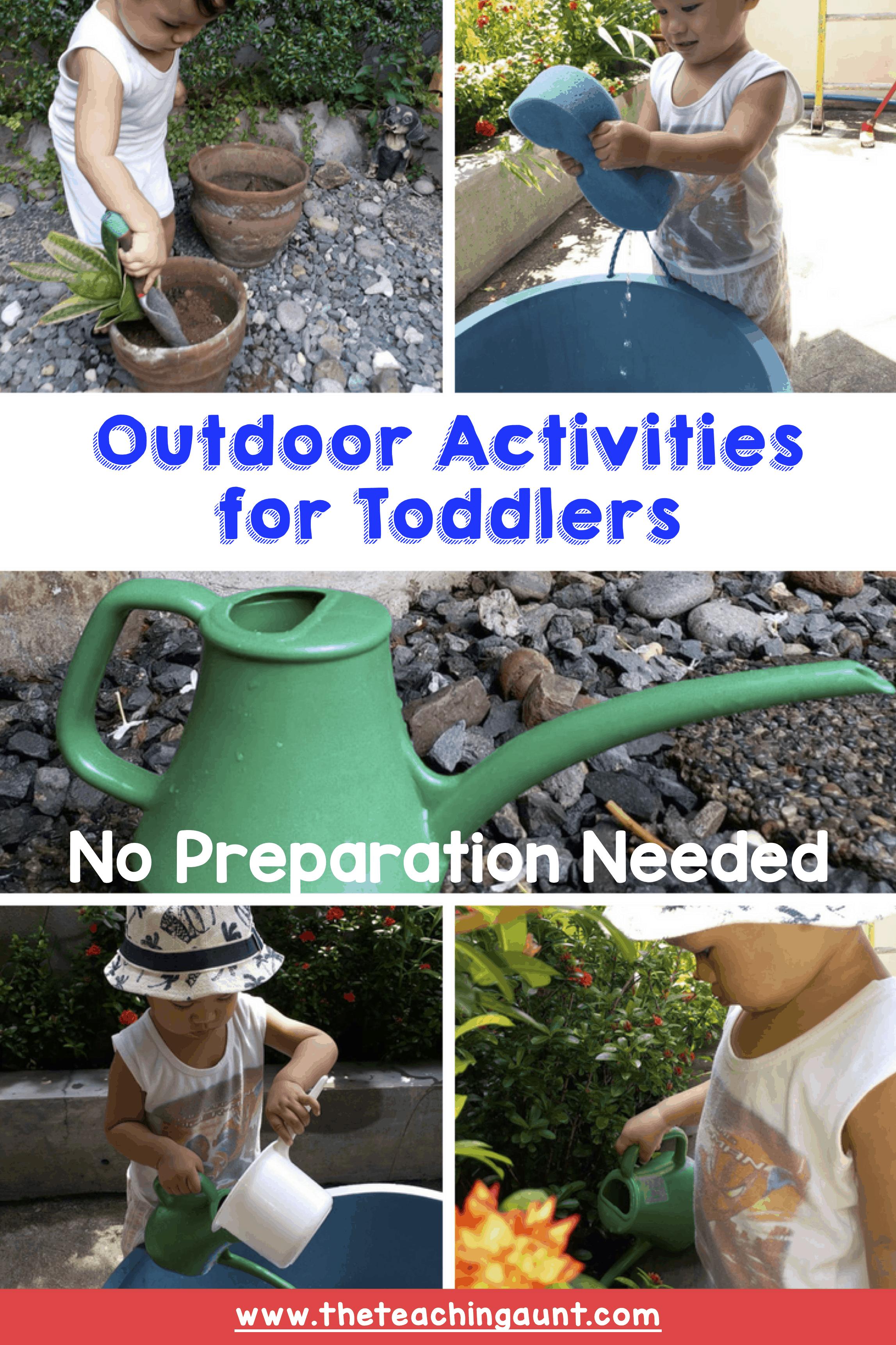 Outdoor Activities with NO PREP Needed