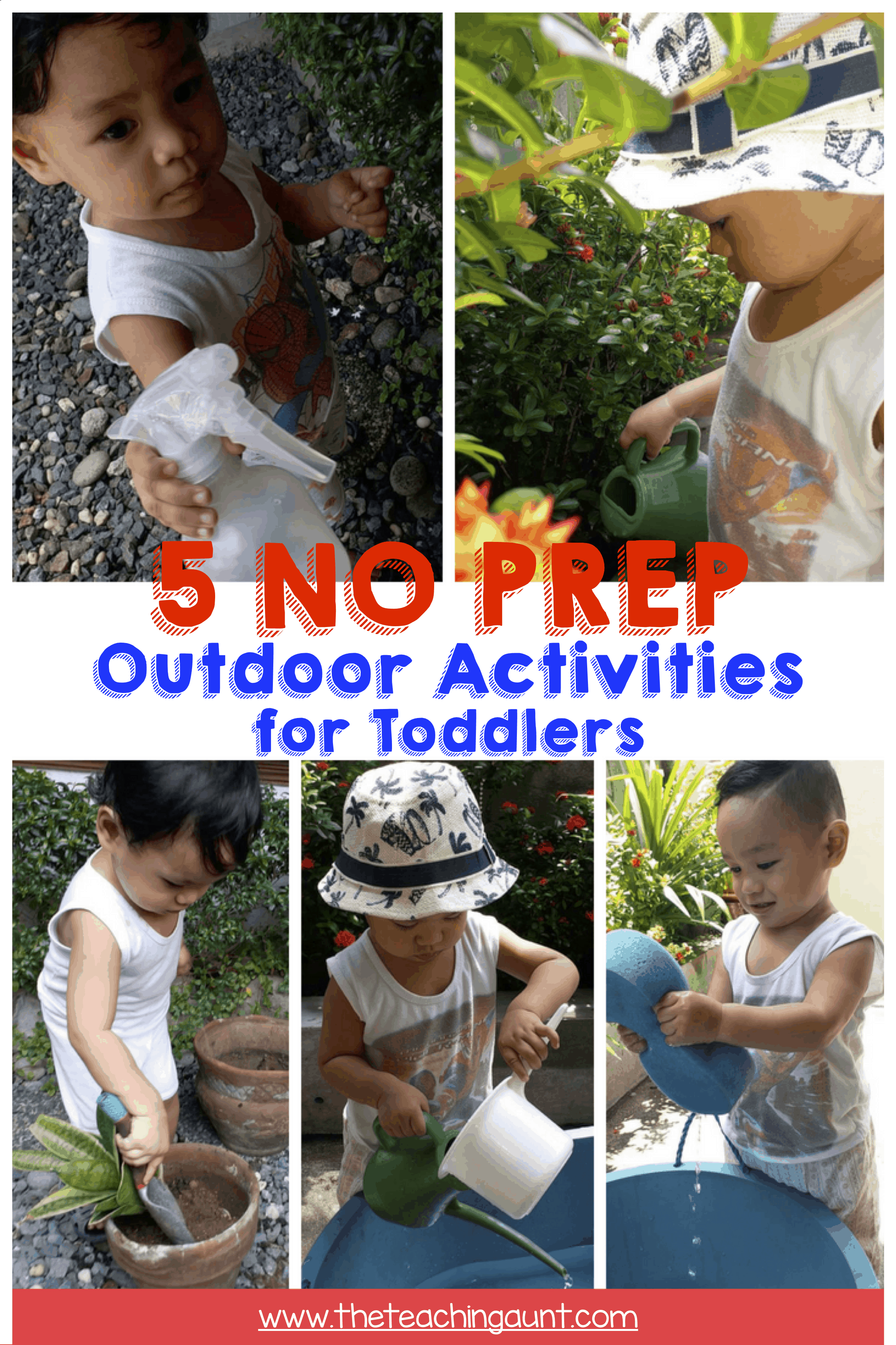 NO PREP Outdoor Activities for Toddlers