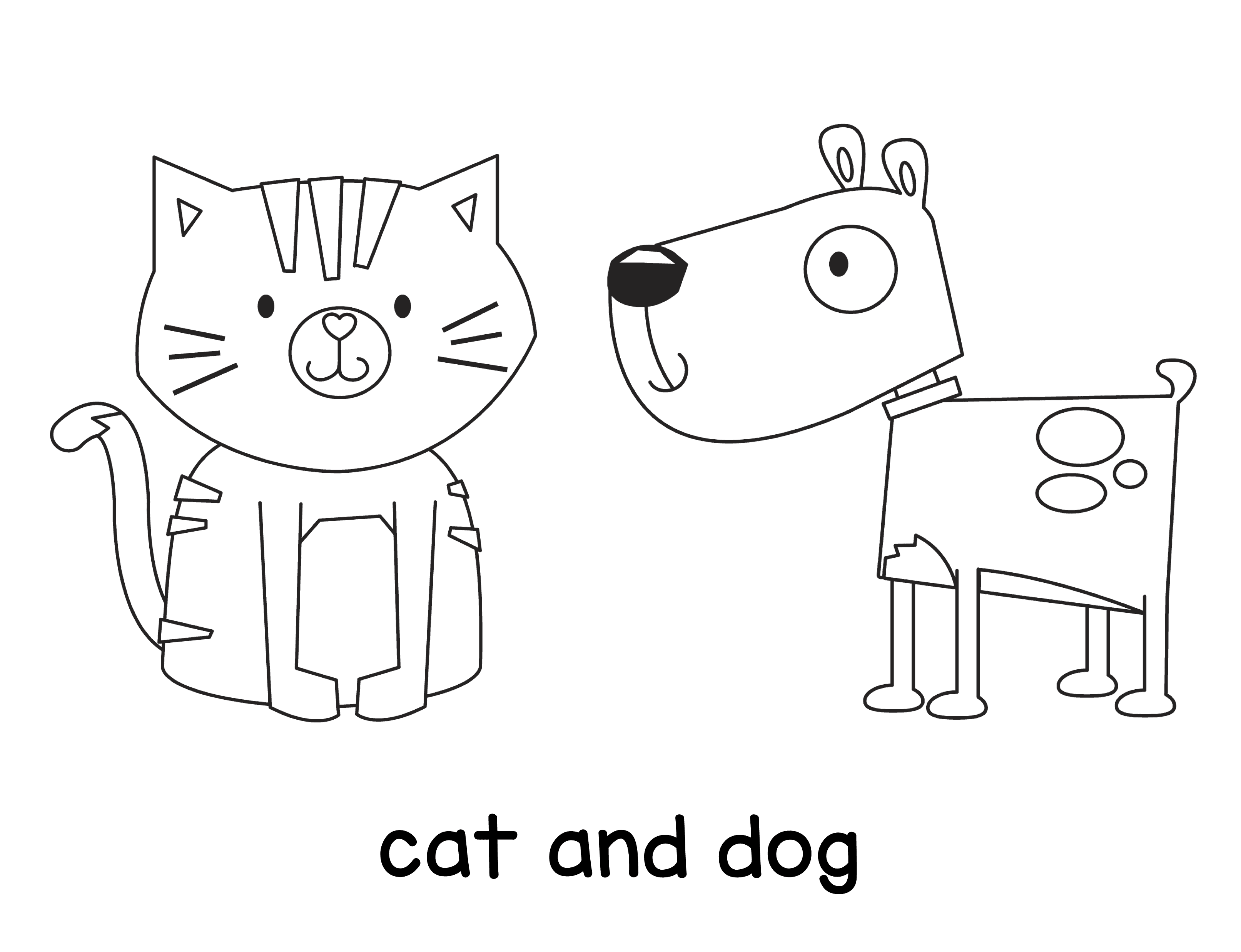 The Teaching Aunt Free Coloring Pages for Toddlers