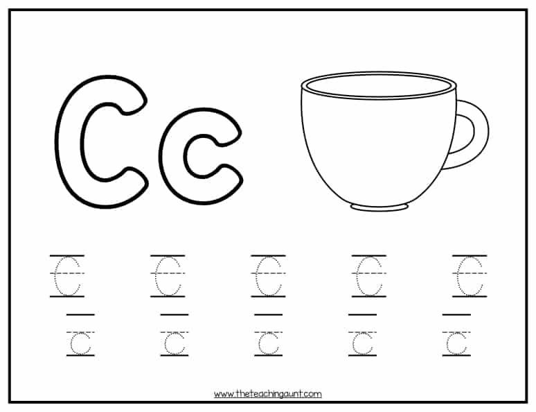image regarding Printable a titled Alphabet Tracing Totally free Printable - The Education Aunt