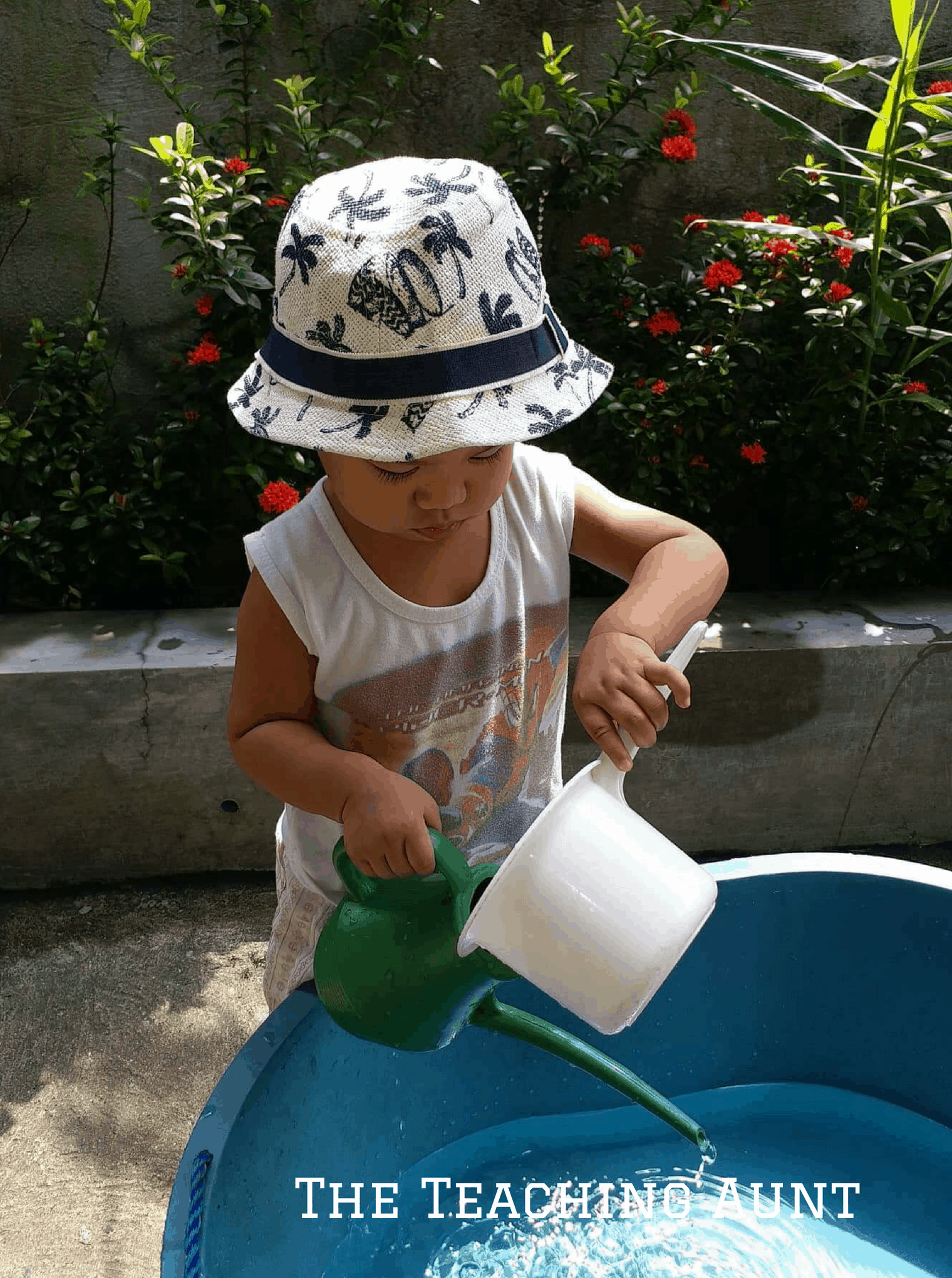 Water dipper activity- NO PREP Outdoor Activity for Toddlers