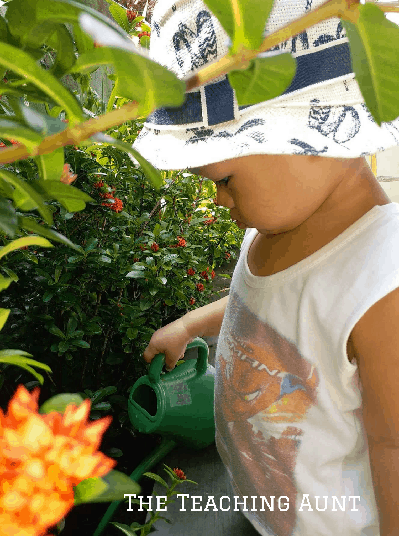 Watering Can- No PREP Outdoor Activity for Toddlers