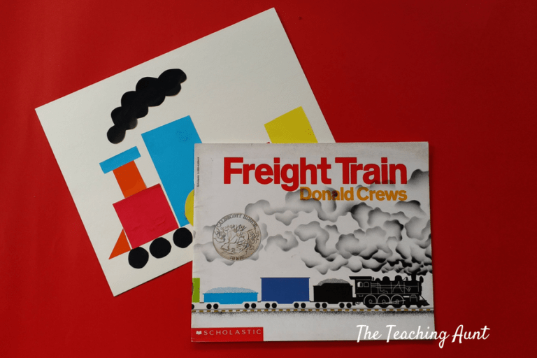 Activities Based on Children's Book Freight Train