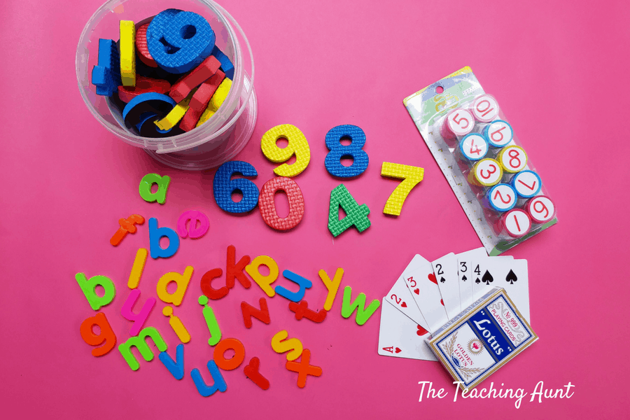 Too Much Screen Time Remedy #2: Supplies for Toddler Activities