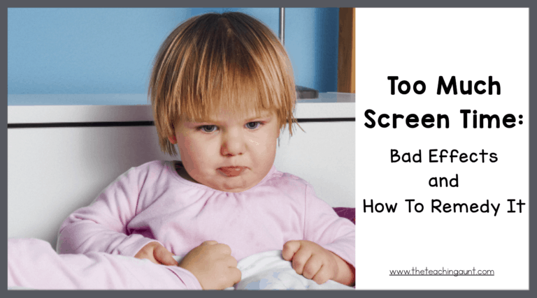 Too Much Screen Time: Bad Effects and Remedy