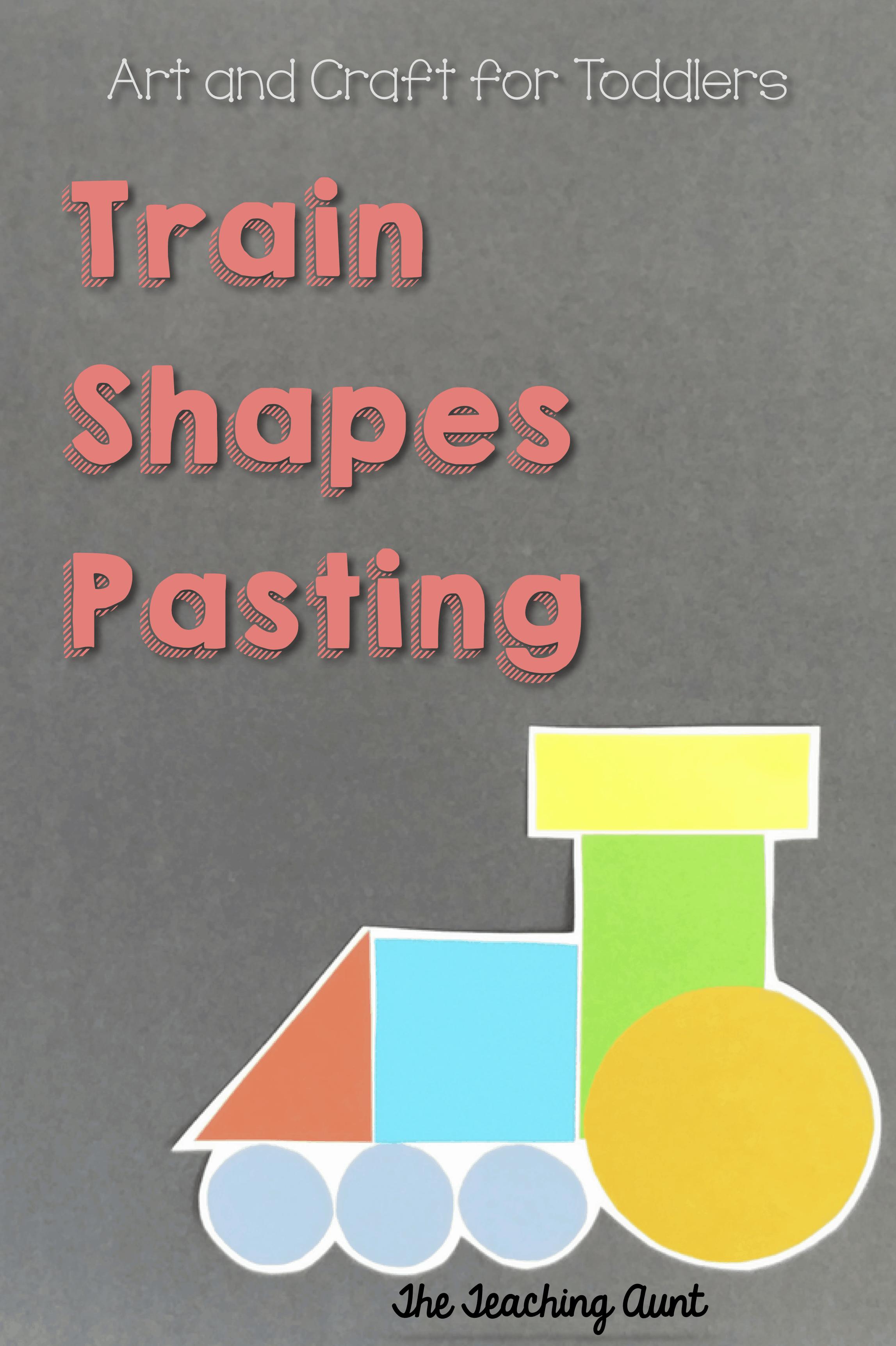 Train Shapes Pasting