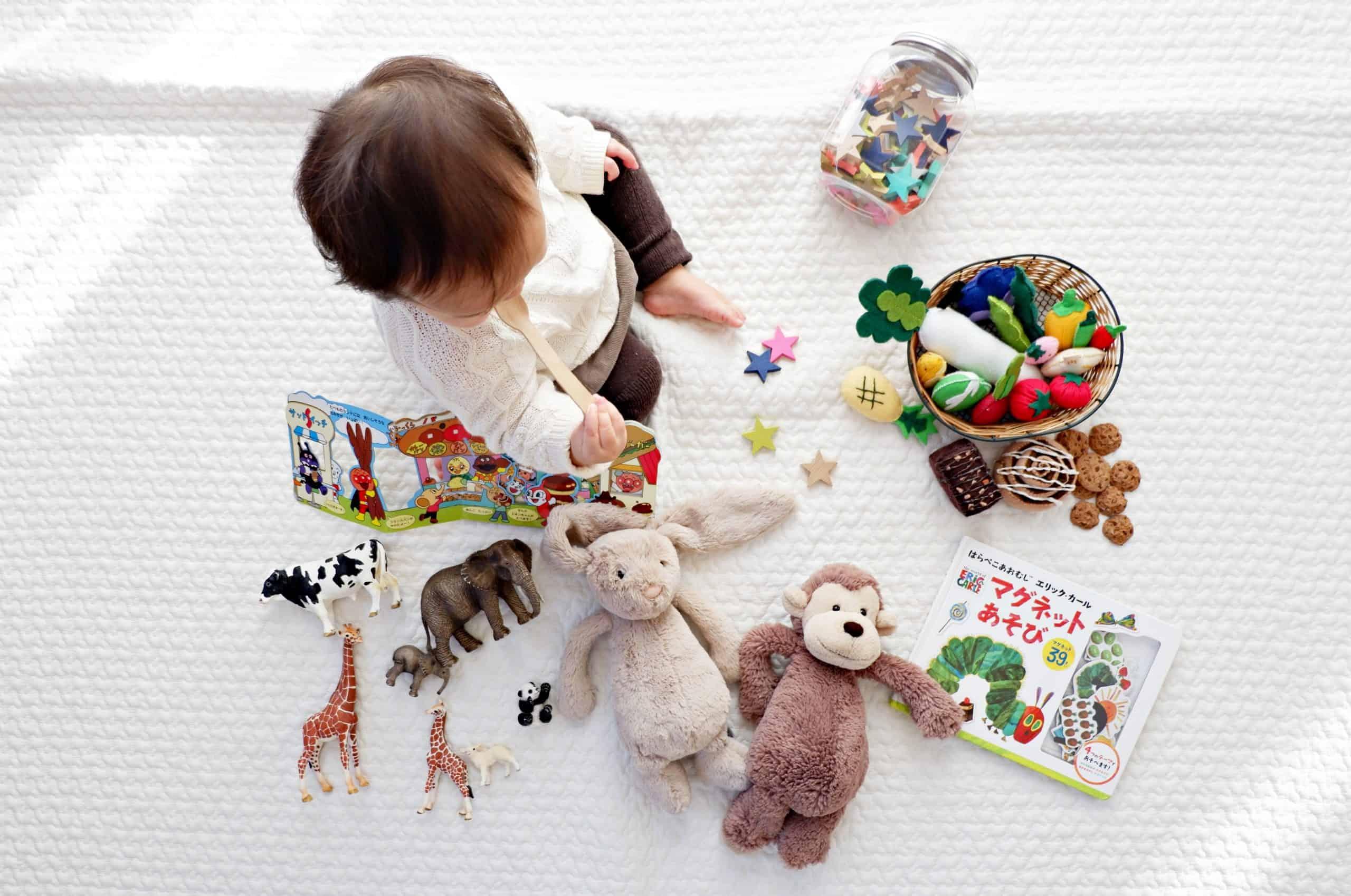 Organizing Toddler Toys
