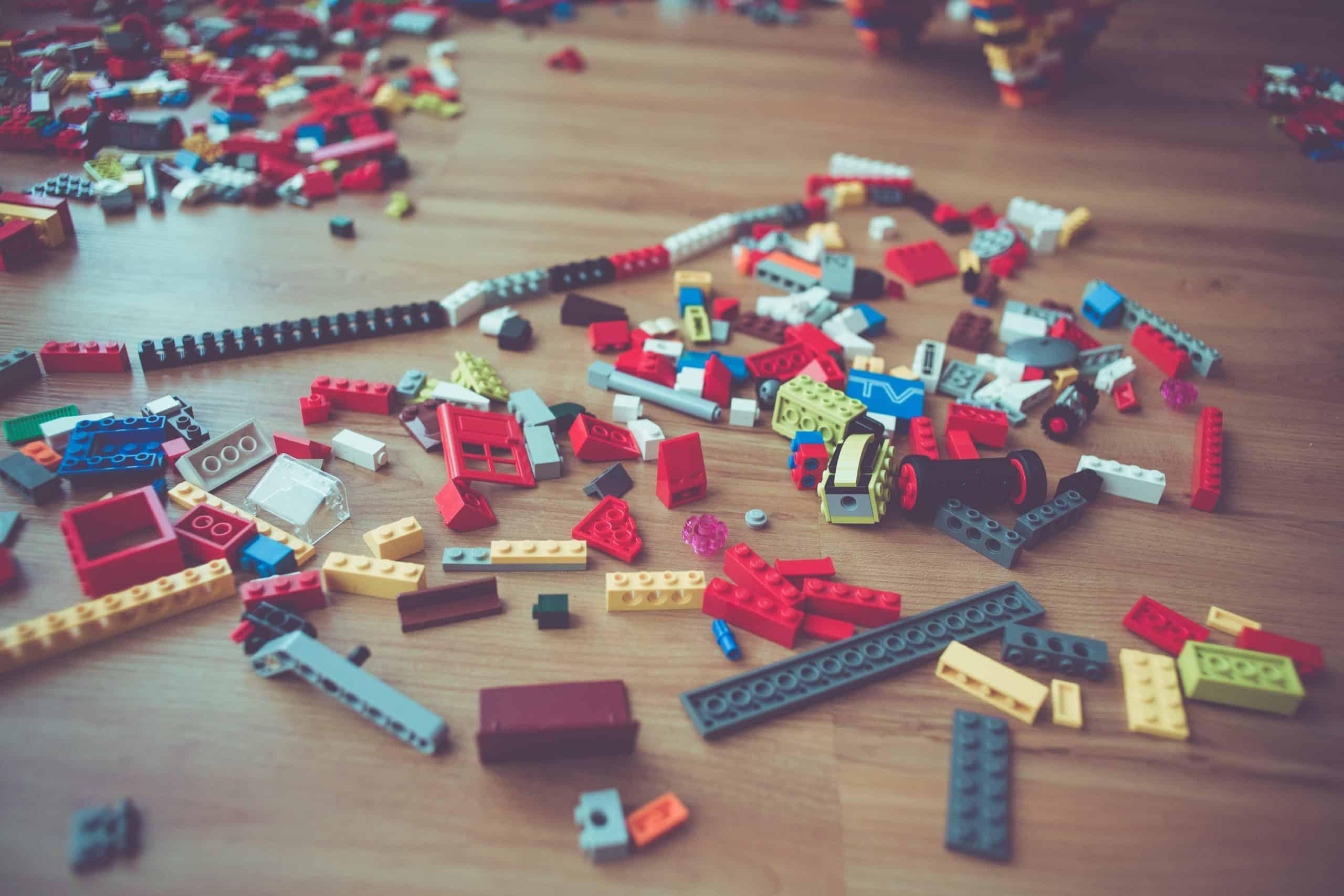 Organizing Toddler Toys: Fine Motor Skills Toys
