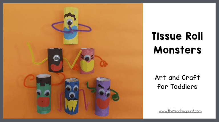 Tissue Paper Roll Monsters