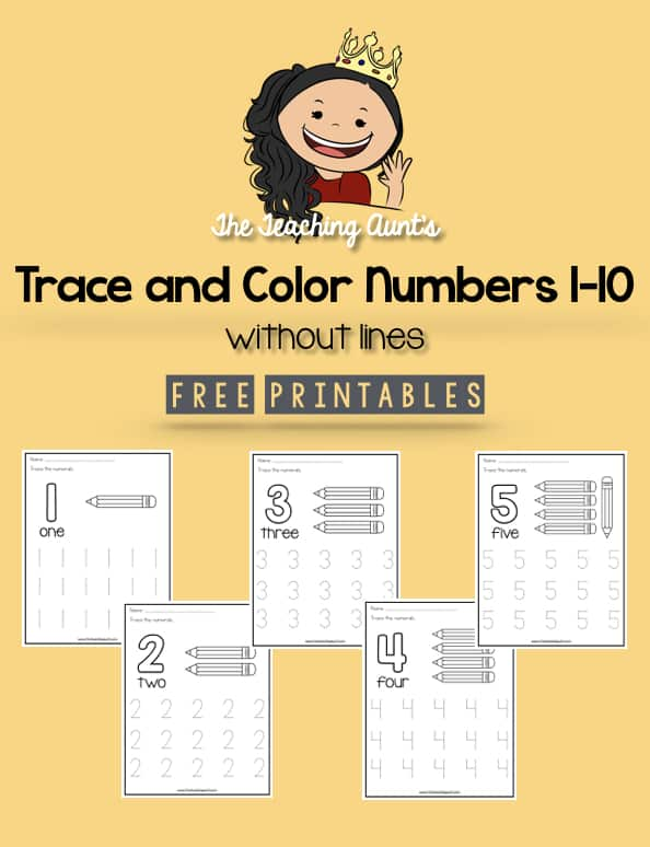 Trace and Color Numbers 1-10