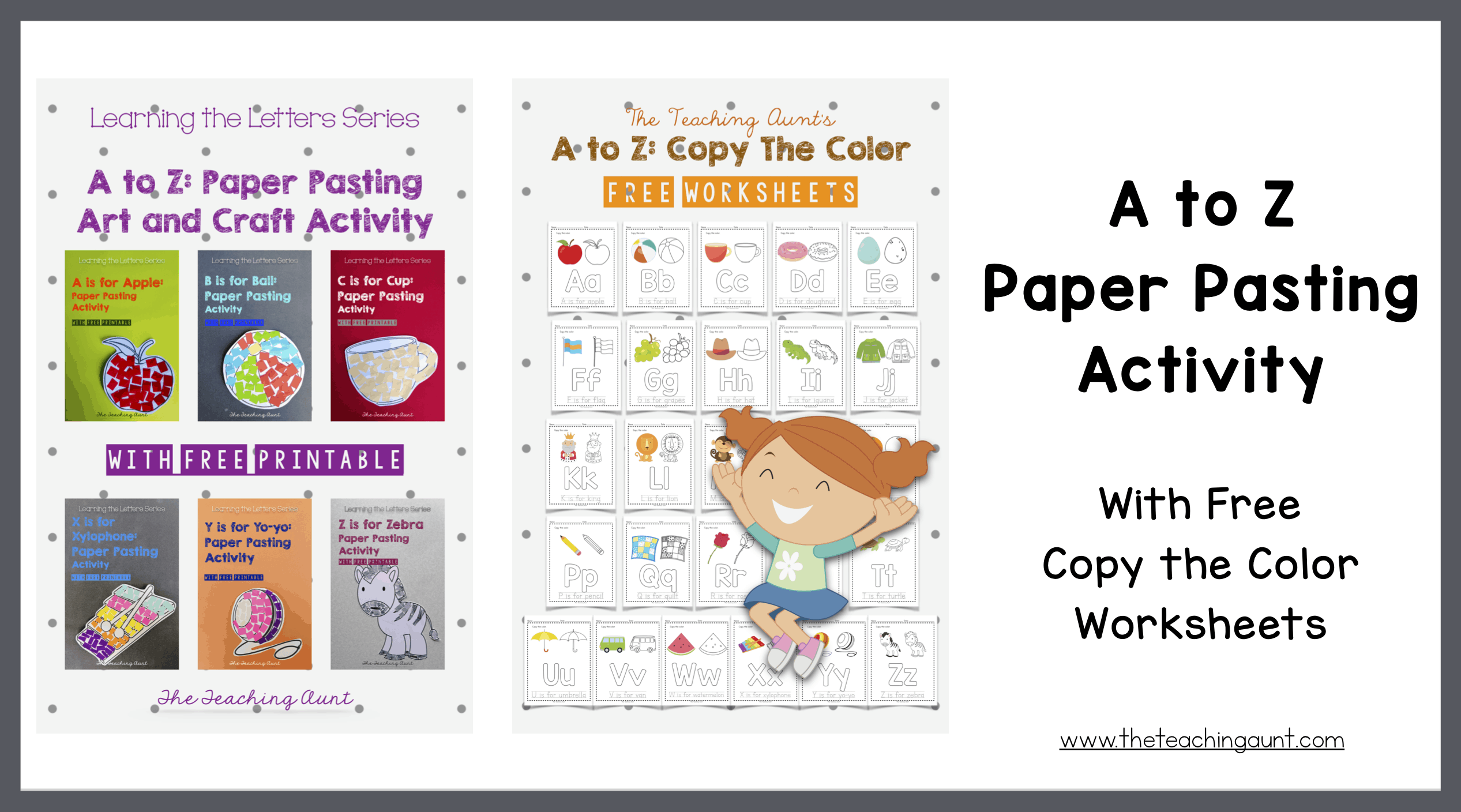 A to Z Paper Pasting Activity