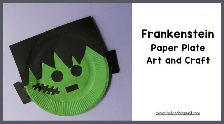 Frankenstein Art and Craft