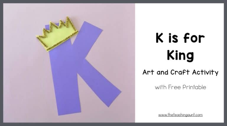 K is for King Art and Craft