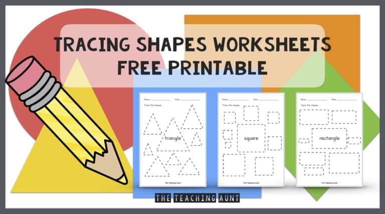 Shapes Tracing Worksheets Free Printable