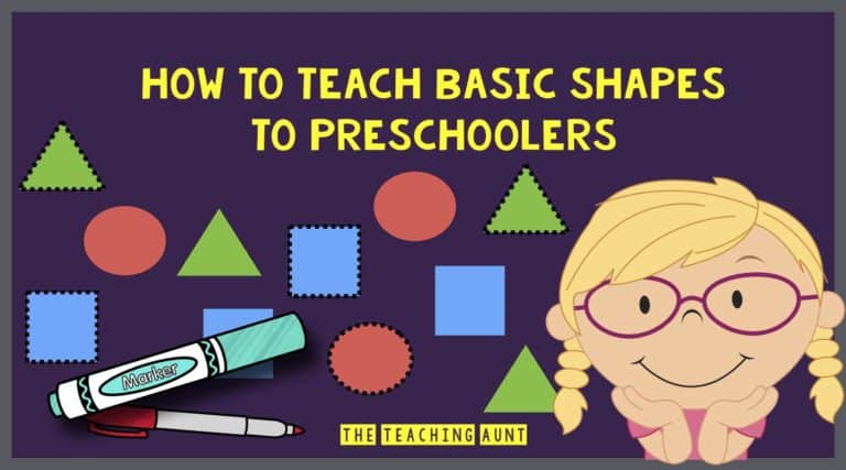 How To Teach Shapes to Preschoolers