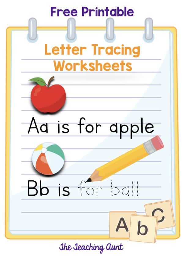 Letters Tracing Worksheets Free