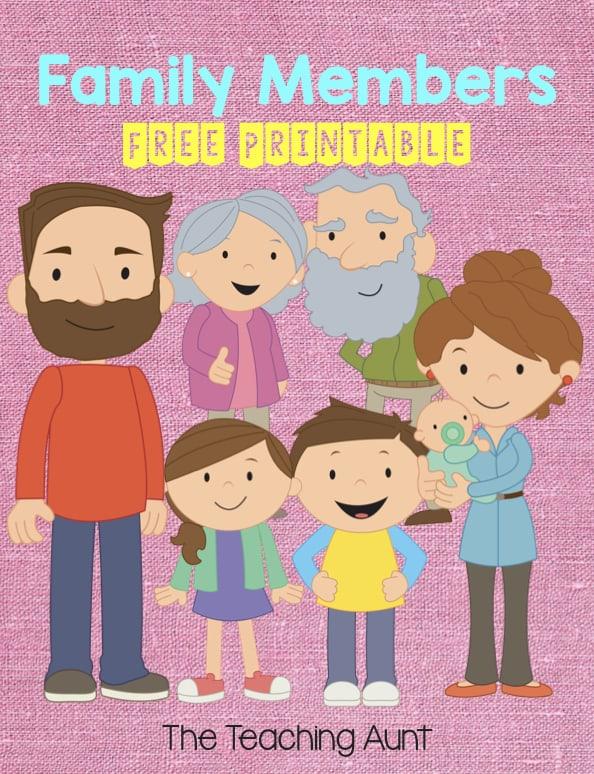 Free Family Flashcards PDF