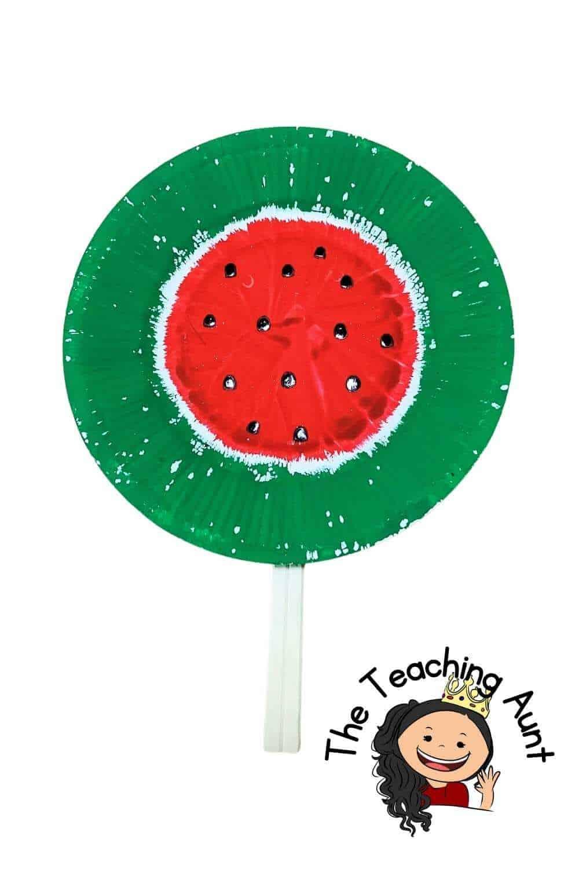 Watermelon Art and Craft Activity for Preschool