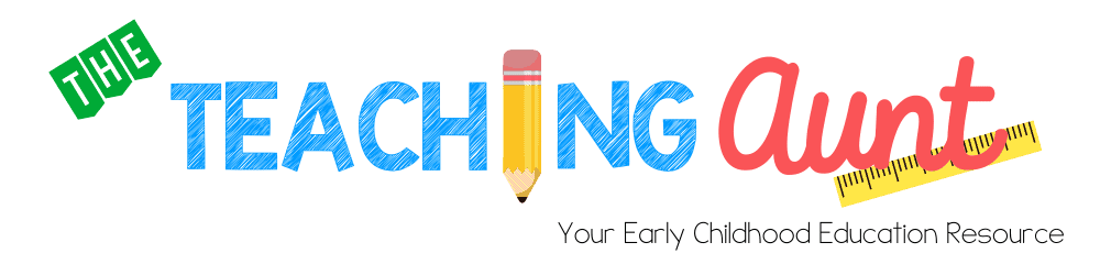 The Teaching Aunt LOGO Your Early Childhood Education Resource